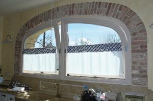 Finestre ad arco best finestre ad arco struttura in for Planimetrie della cabina ad arco